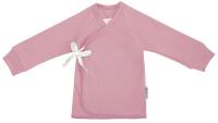 Распашонка для новорожденных Amarobaby Nature Зефир / AB-OD21-NZ12/06-56 (розовый, р.56) -