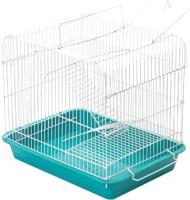 Клетка для грызунов ЕСО Рокки-2 / 4225бирюз-бел -