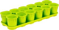 Набор горшков для рассады Plastic Republic Smart Solution / ING6038 ФСТ -