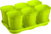 Набор горшков для рассады Plastic Republic Smart Solution / ING6039 ФСТ -