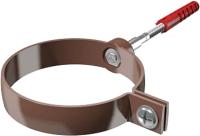Хомут Технониколь ПВХ Универсальный 683359 (темно-коричневый) -