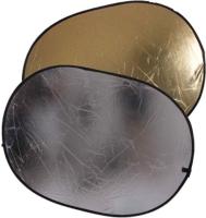 Отражатель для фото FST RD-021 GS 90x120 2 в 1 / ут-00000134 (золотой/серебристый) -