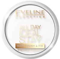 Пудра компактная Eveline Cosmetics All Day Ideal Stay 60 White -