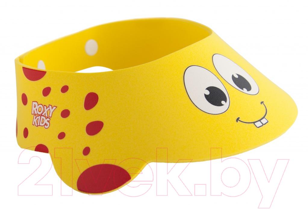 Козырек для мытья головы Roxy-Kids, Желтый жирафик / RBC-492-Y, Китай  - купить со скидкой