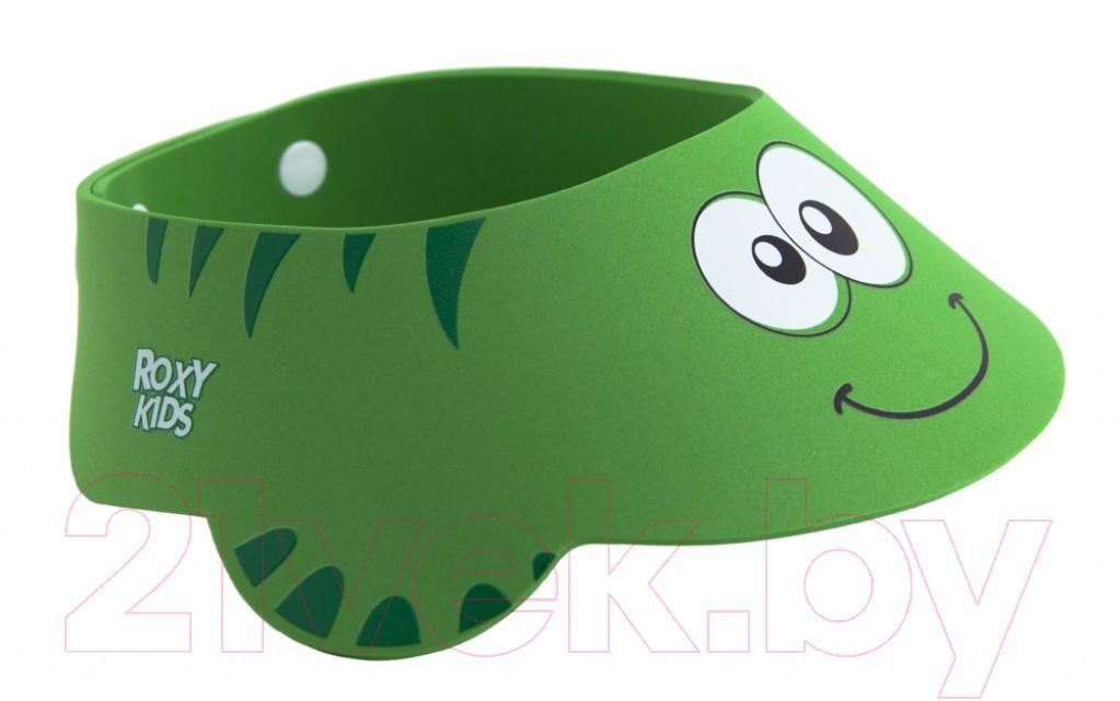 Купить Козырек для мытья головы Roxy-Kids, Зеленая ящерка / RBC-492-G, Китай