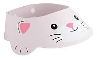 Козырек для мытья головы Roxy-Kids Серый котёнок / RBC-492-GY -
