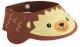 Козырек для мытья головы Roxy-Kids Коричневый ёжик / RBC-492-B -