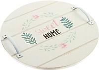 Поднос Grifeldecor Home sweet Home / BZ172-8W28 -