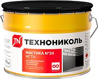 Гидроизоляционная мастика Технониколь МГТН №24 (10кг) -