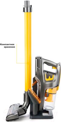 Вертикальный портативный пылесос Kitfort KT-534-1 (золото)