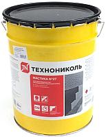 Гидроизоляционная мастика Технониколь №27 (22кг) -