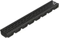 Лоток водоотводный Стандартпарк Пластиковый Spark 088031 / ЛВ-10.14.07-ПП (1000x125x70, с решеткой) -