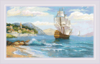 Набор для вышивания Риолис К далеким берегам / 1900 -
