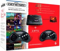 Игровая приставка Retro Genesis Sega HD Ultra + 225 игр + 2 джойстика / ConSkDn73 -
