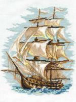 Набор для вышивания Риолис Корабль / 479 -