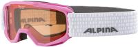 Очки горнолыжные Alpina Sports 2021-22 Piney / A7268457 (розовый/белый) -