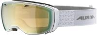 Очки горнолыжные Alpina Sports 2021-22 Estetica Q-Lite Pearl / A7246813 (белый) -