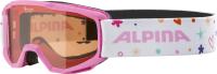 Очки горнолыжные Alpina Sports 2021-22 Alpina Piney / A7268458 (розовый) -