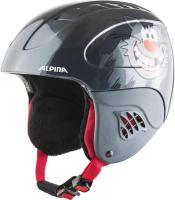 Шлем горнолыжный Alpina Sports 2021-22 Carat / A9035-63 (р-р 51-55, Naughty Cat) -