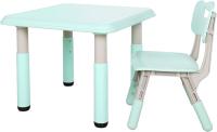 Комплект мебели с детским столом Pituso L-ZY07 (ментоловый) -