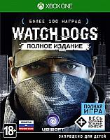 Игра для игровой консоли Microsoft Xbox One Watch Dogs. Полное издание -