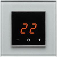 Терморегулятор для теплого пола DeLUMO Orto 9006 (серый металлик) -