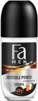 Антиперспирант шариковый Fa Men Invisible Power Освежающий аромат (50мл) -