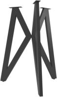 Подстолье Дабер тип 6 / П6.2 (металл черный) -