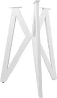 Подстолье Дабер тип 6 / П6.1 (металл белый) -