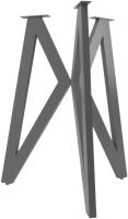 Подстолье Дабер тип 6 / П6.3 (металл серый графит) -