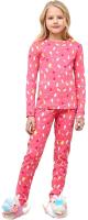 Пижама детская Mark Formelle 567725 (р.104-56, розовый в гирлянды) -