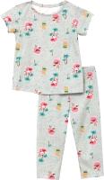 Пижама детская Mark Formelle 567728 (р.122-60, пальмы на сером) -