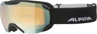 Очки горнолыжные Alpina Sports 2022 Pheos S Q-Lite / A7214838 (черный/матовый) -