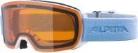 Очки горнолыжные Alpina Sports 2022 Alpina Nakiska / A7281112 (белый/небесно-голубой) -