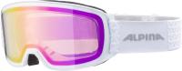 Очки горнолыжные Alpina Sports 2022 Alpina Nakiska Q-Lite / A7280811 (белый) -