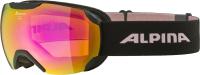Очки горнолыжные Alpina Sports 2022 Pheos S Q-Lite / A7214851 (черный/розовый) -