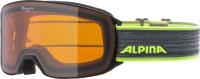 Очки горнолыжные Alpina Sports 2022 Alpina Nakiska / A7281132 (черный/неоновый) -