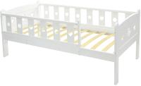 Кровать-тахта детская СКВ 80x160 / 600301 (белый) -