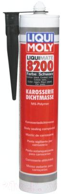 Клей-герметик Liqui Moly Liquimate 8200 MS Polymer schwarz / 6148 (310мл, черный)