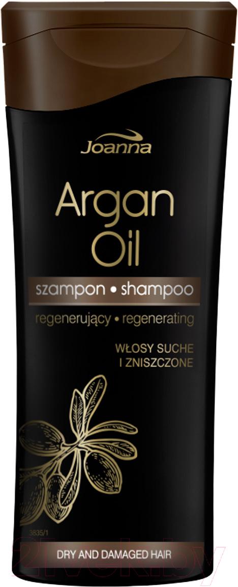 Купить Шампунь для волос Joanna, С маслом арганы для поврежденных волос (400мл), Польша