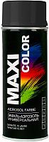 Эмаль Maxi Color 9017MX RAL 9017 (400мл, транспорт черный) -
