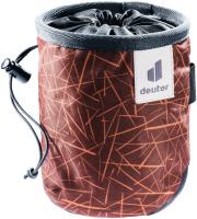 Сумка для магнезии Deuter 2021-22 Gravity Chalk Bag I / 3391322-5431 (Redwood Scratches/Graphite) -