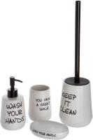 Набор аксессуаров для ванной и туалета АкваЛиния Everyday CE2366AA/1 -