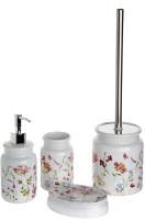 Набор аксессуаров для ванной и туалета АкваЛиния Flowers CE2074AA/1 -