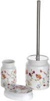 Набор аксессуаров для ванной и туалета АкваЛиния Flowers CE2074AA/3 -