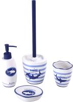 Набор аксессуаров для ванной и туалета АкваЛиния Ocean CE2374AA/1 -