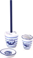 Набор аксессуаров для ванной и туалета АкваЛиния Ocean CE2374AA/3 -