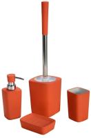 Набор аксессуаров для ванной и туалета АкваЛиния Orange CE0431U/1 -
