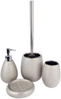 Набор аксессуаров для ванной и туалета АкваЛиния Silver CE0988A/1 -