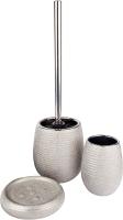 Набор аксессуаров для ванной и туалета АкваЛиния Silver CE0988A/3 -